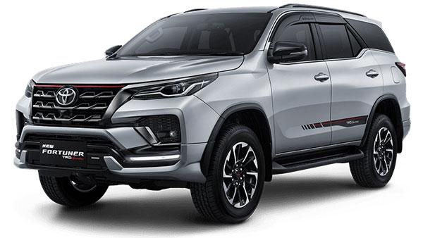 Silver Metallic Toyota Fortuner