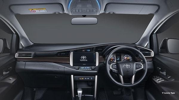 Spesifikasi Interior Toyota Innova Facelift 2020