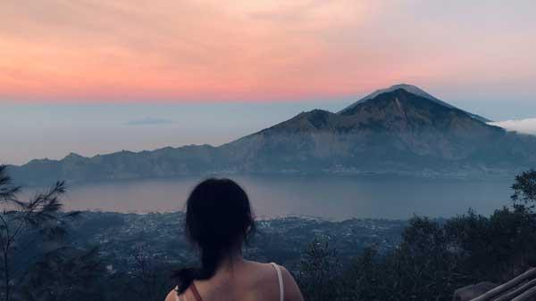 Pemandangan Sunrise Kintamani