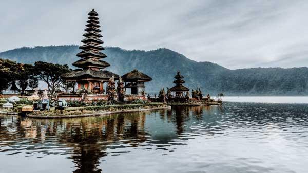 Ulun Danu Floating Temple Bedugul Bali